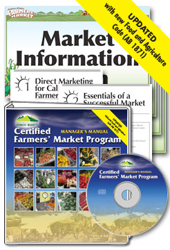 Certified Farmers' Market Manager's Manual