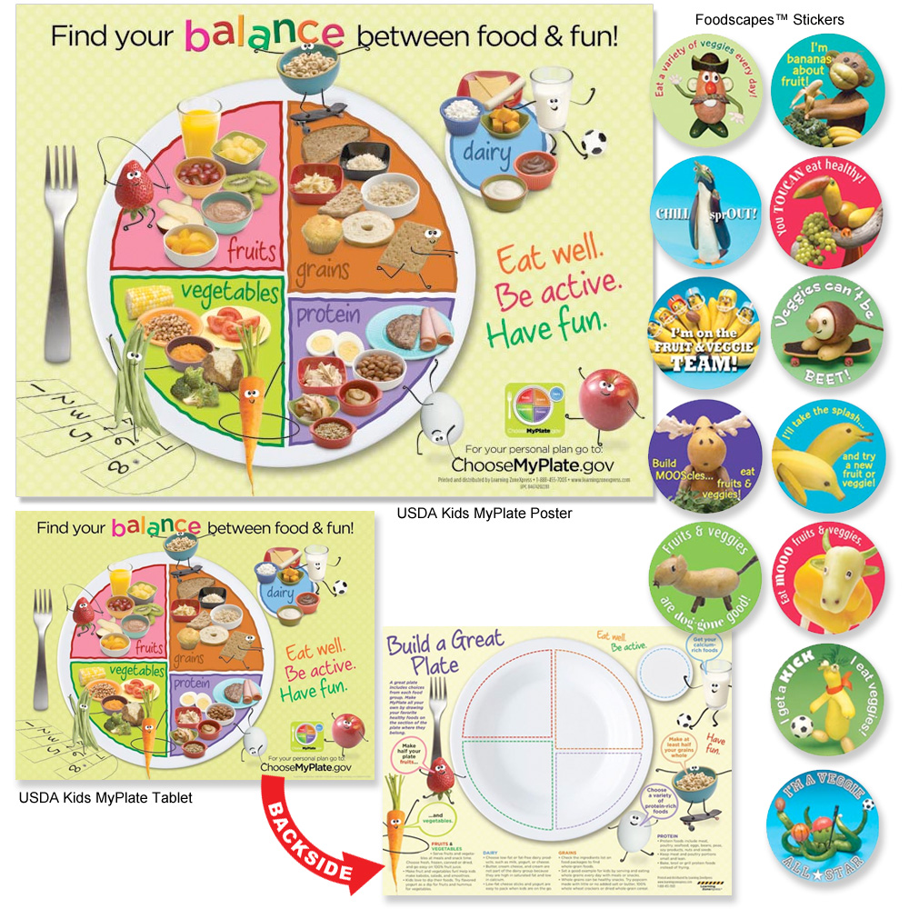 Eating Smart for Healthy Learning Kit for Children