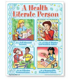 The Health Literate Person Posters