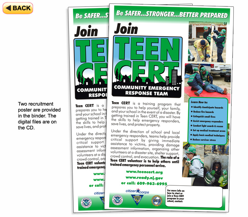 Response teen cert train the