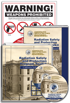 Radiation Safety and Protection Program Toolkit for the Judicial Branch