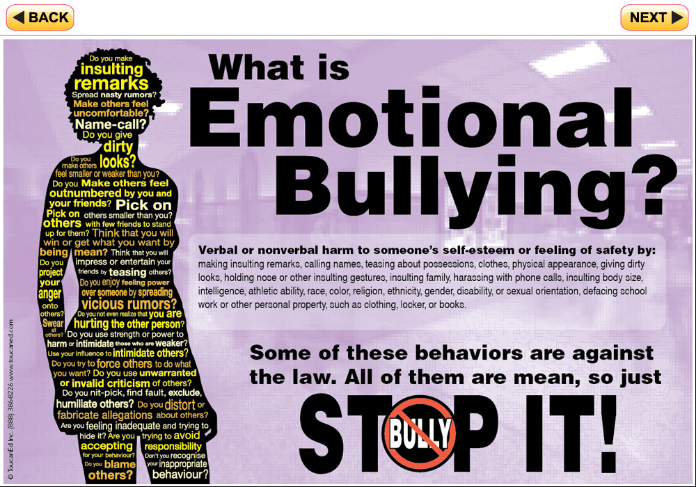 stop it  bully prevention poster series for teens