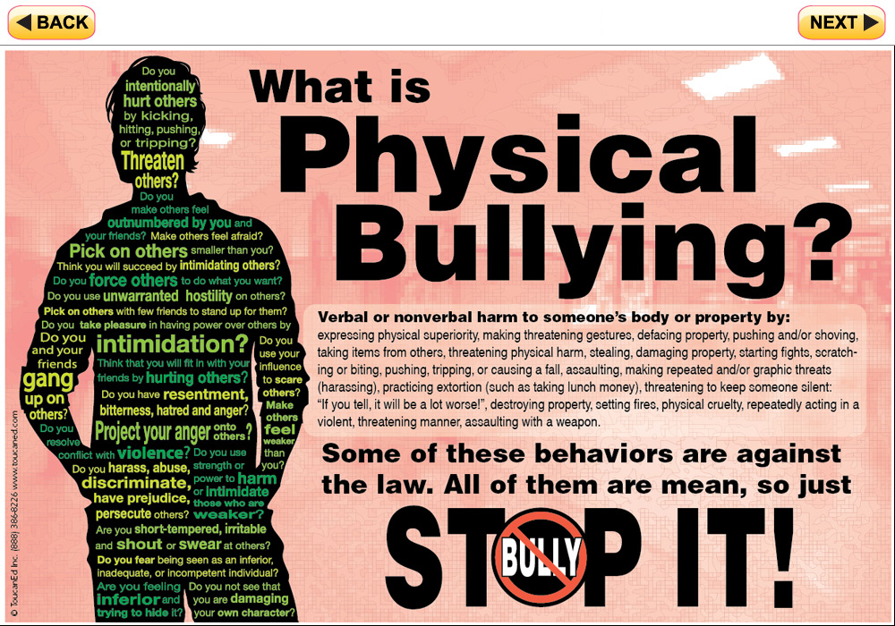 Physical Bullying Pictures View larger image of the kit.