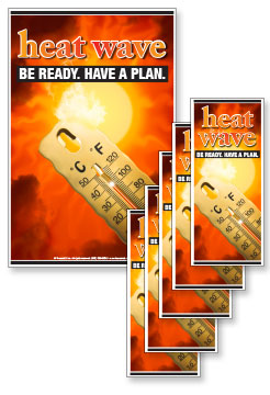 Heat Wave Poster and Rack Card Kit