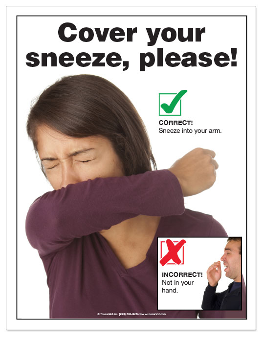 infection control posters for the food service industry