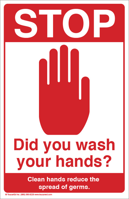 Eliciahibbard Hand Washing Posters