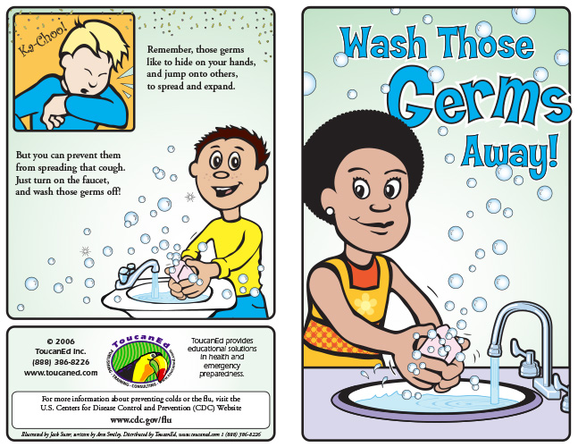 health education pamphlets for infection control, disease prevention