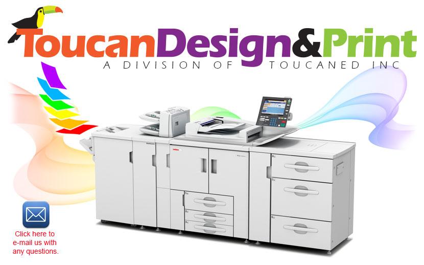 Toucan Design & Print - Custom Design and Printing in Santa Cruz CA