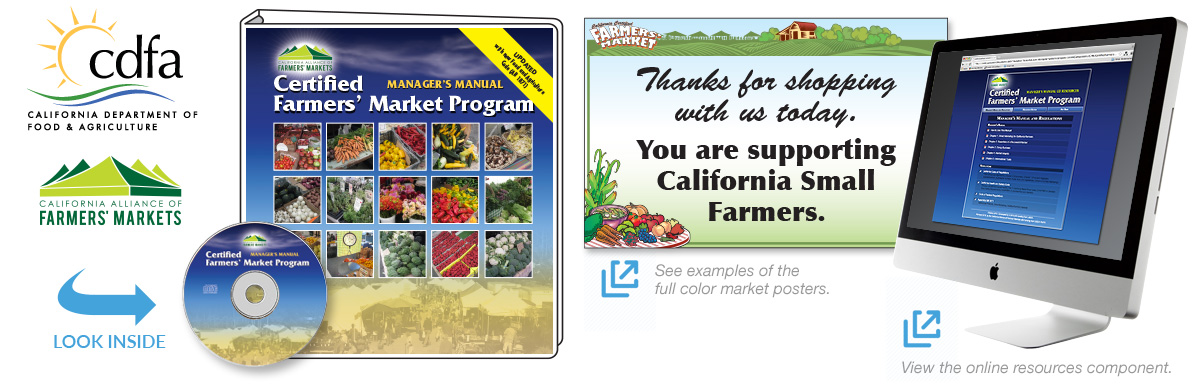 California Department of Food and Agriculture (CDFA) Certified Farmers' Market Manager's Manual