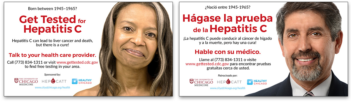 Chicago Department of Public Health Hepatitis C Campaign