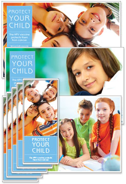 HPV Vaccination Rack Card and Poster Kits