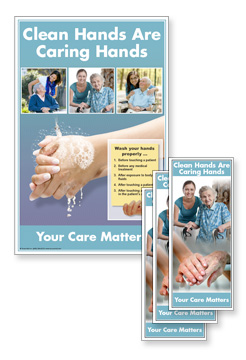 Caring Hands Rack Cards