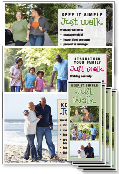 Walking Rack Card and Poster Kits